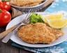 Escalopes de poulet panées