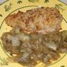 Escalopes de veau au roquefort et aux noix