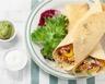 Fajitas au poulet et aux légumes