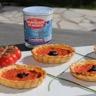 Feuilleté brandade de morue tomates