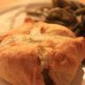 Feuilleté de filet mignon de porc au boursin