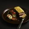 Filet d'agneau en croûte au parmesan et basilic