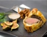 Filet de bœuf en croûte aux girolles et aux figues