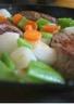 Filet de boeuf façon navarin aux petits légumes nouveaux