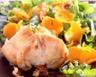 Filet de lapin aux carottes et roquette