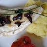 Filet de lieu jaune et son écrasé de pommes de terre à lhuile d'olive