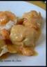 Filet de lieu sauce crevettes