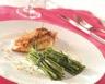 Filet de volaille et fagot de haricots verts au fromage ail et fines herbes