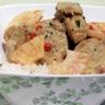 Filet mignon de porc au curry et lait de coco (recette facile)