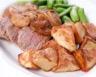 Filet mignon de porc aux 2 pommes maison