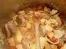 Filet mignon de porc aux pommes