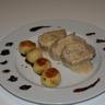 Filet mignon de porc sauce au foie gras et à la figue