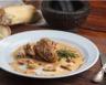 Filet mignon de veau aux champigons et moutarde