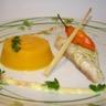 Filets de daurade gingembre citronnelle purée de patate douce au curcuma sauce coco curry