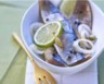 Filets de hareng marinés