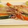 Filets de rouget sauce au cidre et ses petits légumes