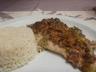 Filets de sole sauce crèmeuse aux légumes d'automne