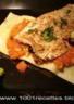 Filets de truites au sésame et lasagne minute