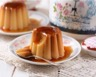 Flan vanille au caramel maison