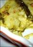 Flans aux asperges coeur de fromage fondu