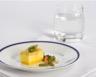 Flans d'asperges fagots de saumon fumé sauce mousseline