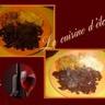 Foie de porc caramélisé à la sauce de vin rouge
