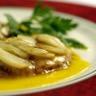 Foie gras aux écailles d'ail rose de Lautrec