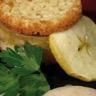Foie gras de canard du Sud-ouest en crumble de pommes