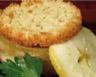 Foie gras de canard en crumble de pommes
