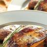 Foie gras de canard poêlé aux raisins