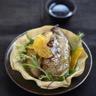 Foie gras fermier des Landes chaud aux clémentines de Corse IGP