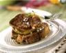 Foie gras poêlé sur lit de pommes