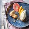 Foie gras poêlé Tartare® Ail Sauvage cèpes & pommes caramélisés