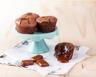 Fondant au chocolat coeur coulant caramel au beurre salé