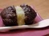 Fondant chocolat noix de coco et ananas caramélisé