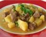 Fricassée de boeuf et pommes de terre