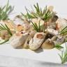 Fricassée de dinde aux champignons de Paris et au romarin