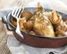 Fricassée de poulet fermier des Landes aux girolles