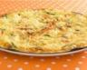 Frittata aux asperges vertes tomates cerise et pomme golden
