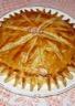 Galette des rois à la frangipane-crème pâtissère