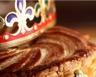 Galette des rois au chocolat et à la crème d'amande