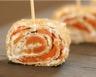Galettes de blé noir au saumon fumé et à la crème fraîche