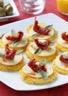 Galettes de polenta aux tomates séchées