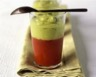 Gaspacho de légumes épicés au guacamole