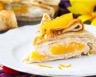 Gâteau à l'orange et crème fouettée sans cuisson