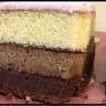 Gâteau américain aux 3 chocolats et pâte à sucre