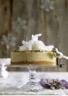 Gâteau au chocolat blanc à la noix de coco et au fruit de la passion