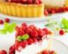 Gâteau au chocolat blanc fraises et framboises