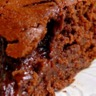 Gâteau au chocolat et caramel salé