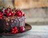 Gâteau au chocolat et griottes à l'eau de vie